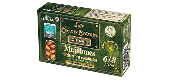 100% origen gallego, mejillones recogidos en el momento óptimo de sabor y textura
