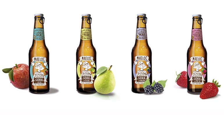 La sidra con manzanas 100% gallegas y maridada con otras frutas