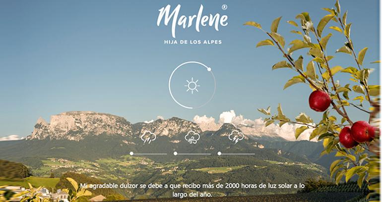 Marlene, la manzana hija de los Alpes, nos transporta a la naturaleza del Tirol del Sur