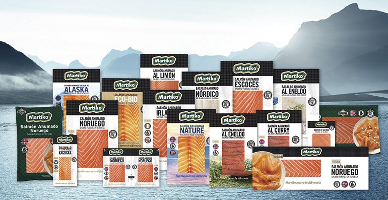Ahumados de gran calidad en nueva línea de packaging premium