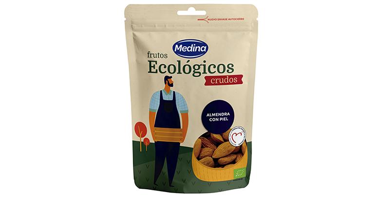 Nuevo envase para la gama de frutos secos ecológicos