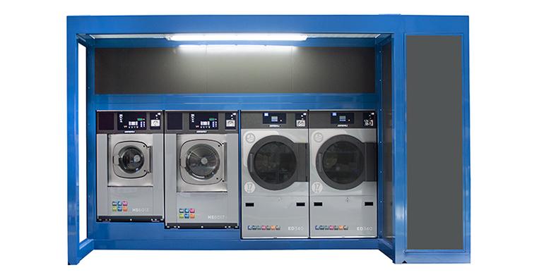 Mini lavandería para crear sinergias con otros negocios