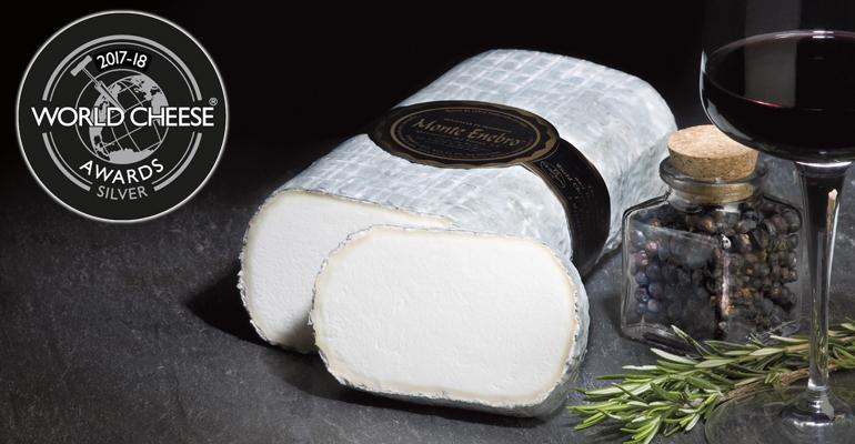 Plata para Monte Enebro en el concurso World Cheese Awards 2017-2018