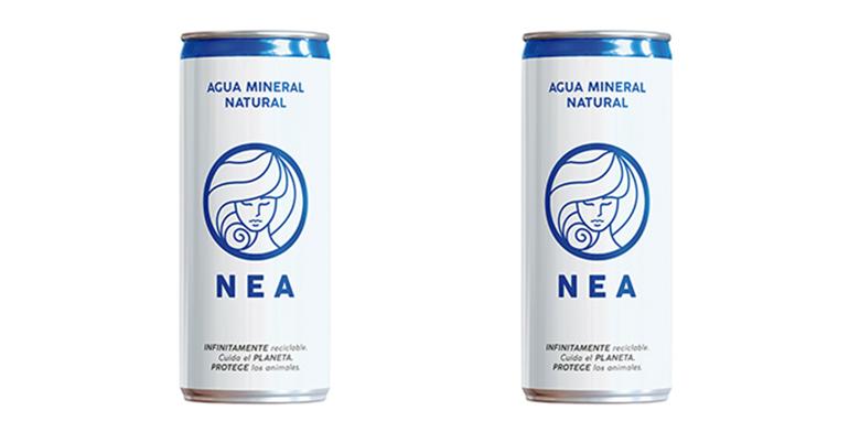 Agua mineral procedente de Asturias y en envase sostenible