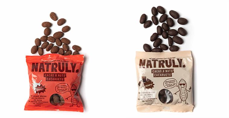 ´Cacao & Nuts´, snack saludable de cacahuete recubierto de chocolate sin azúcares añadidos ni edulcorantes