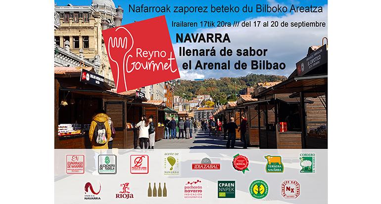 Navarra llena este fin de semana de sabor el Arenal de Bilbao