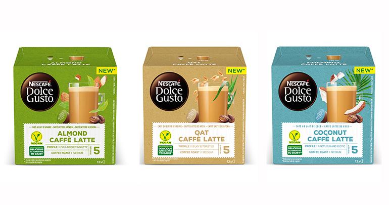 Tres alternativas veganas al café con leche y en cápsula