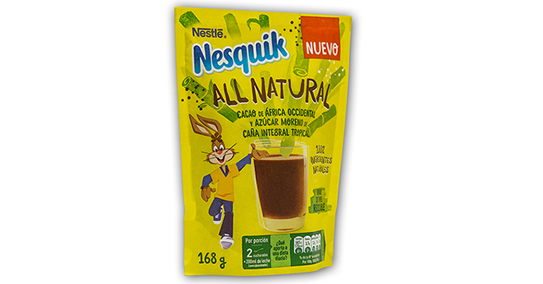 Nesquick estrena envase de papel procedentes de fuentes sostenibles FSC