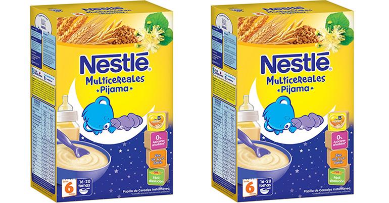 Nestlé Multicereales Pijama: cereales para tomar antes de irse a dormir