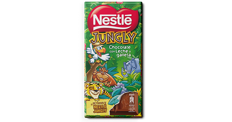 Nestlé Jungly, el regreso de la tableta de chocolate y galleta auspiciado por el clamor popular