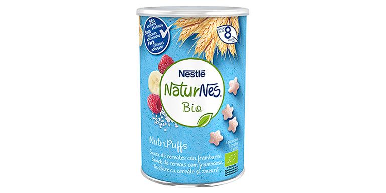"""Nuevos NaturNes Bio: NutriPuffs, los """"snacks"""" saludables y eco para bebés"""