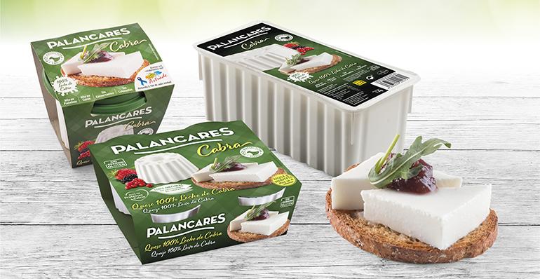 Nuevo formato 4x62,5 gramos de queso fresco 100% cabra
