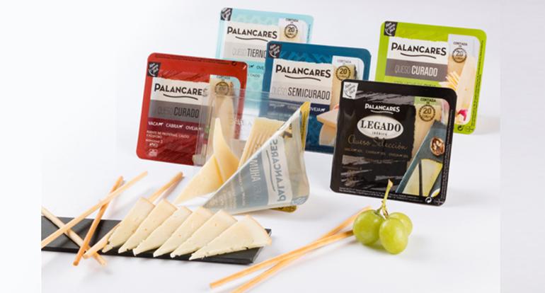 Nueva gama de cuñas de queso cortadas de 200 gramos