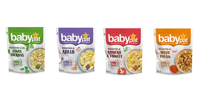 Prácticas patatas para microondas Babypat