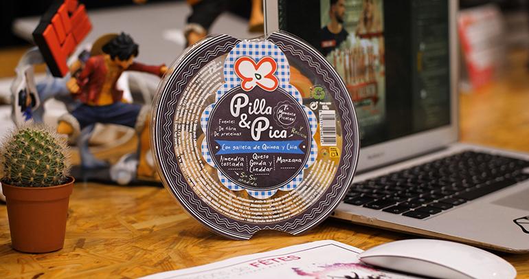 Pilla & Pica, saludable gama de tres snacks ricos en fibra, proteína y sin sal añadida
