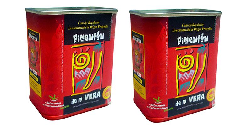 Pimentón con DOP de la Vera de calidad certificada