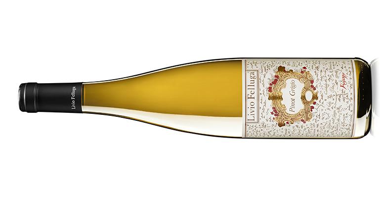 Pinot Grigio, un envolvente blanco de viva frescura con sabor a cítricos