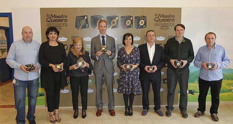 El Maestro Quesero: selección de los mejores quesos artesanales elaborados con leche Central Lechera Asturiana
