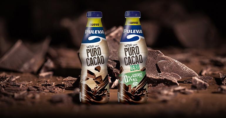 Gama de batidos con textura ligera e intenso sabor a cacao.