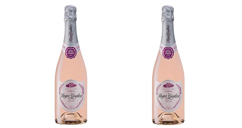 Cava rosado complejo, persistente, con una burbuja muy fina y elegante