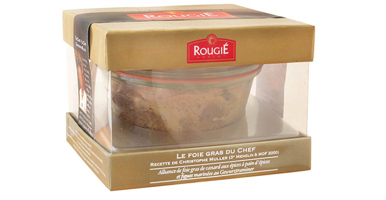 Foie gras al estilo de Alsacia para Navidad o regalar