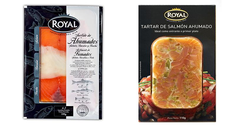Completa gama de salmón para Navidad