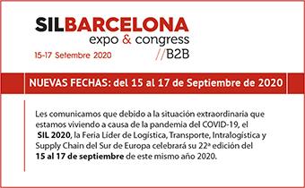 SIL y eDelivery 2020 pasan a celebrarse del 15 al 17 de septiembre en Fira Barcelona