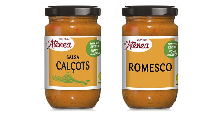 Salsas Calçots y Romesco con nueva imagen más visual