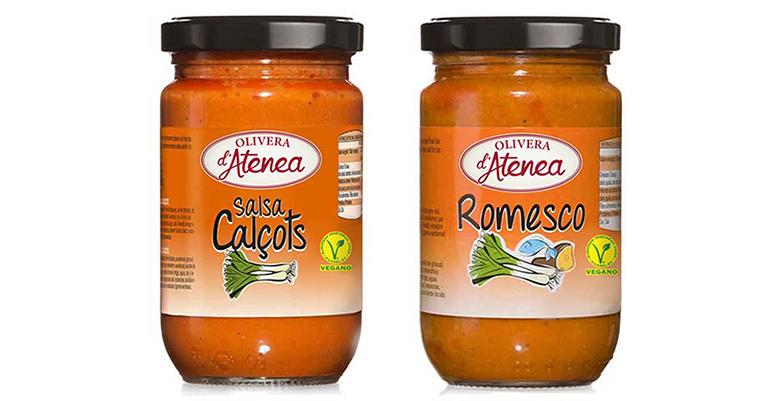 Salsa Calçots y la Salsa Romesco, veganas y elaboradas según la receta tradicional