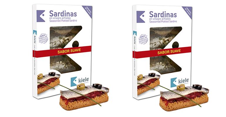 Lomos de sardina en vinagre de carnosa textura