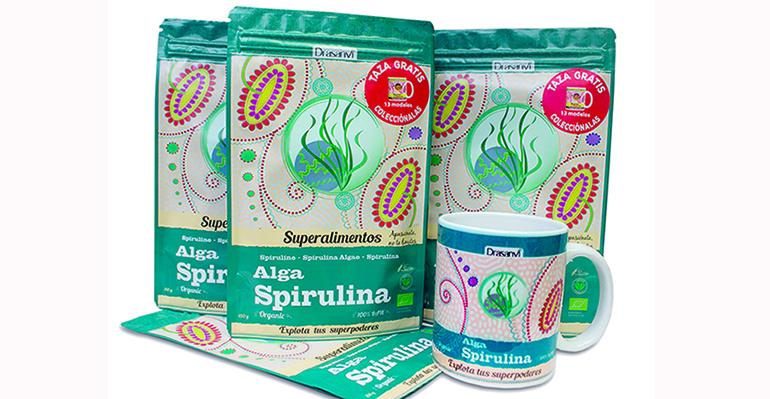 Alga spirulina, reconocida como ´Mejor alimento para el futuro´ por la ONU