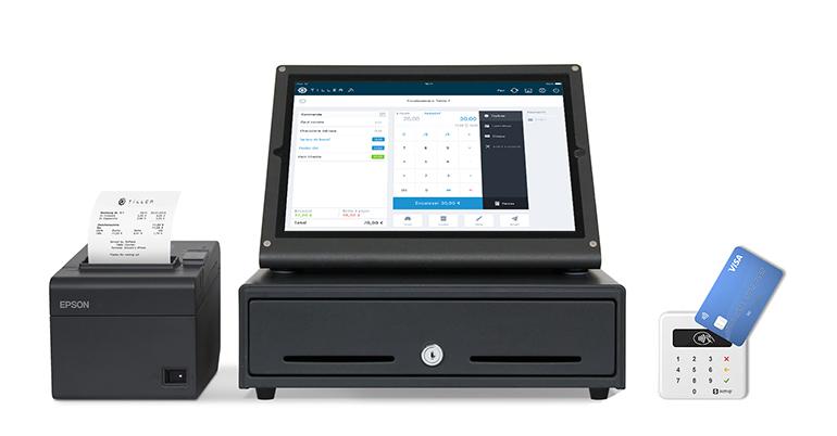 Una caja registradora que posibilita el cobro, gestión y análisis del negocio