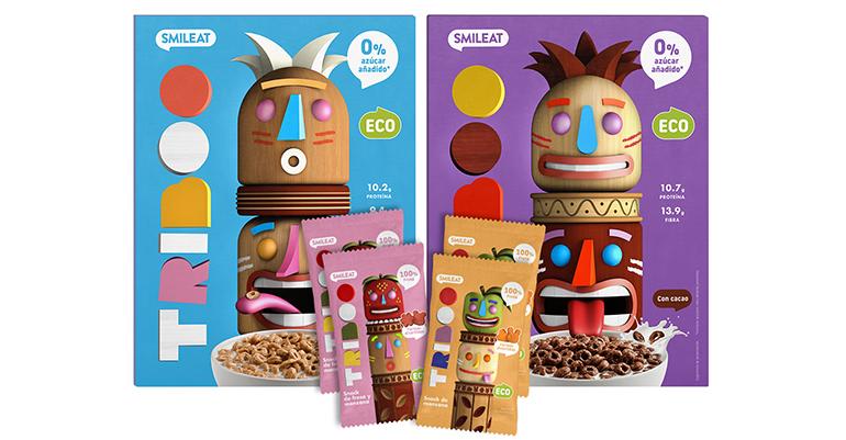 Nueva marca de cereales y snacks infantiles ecológicos sin azúcar ni edulcorantes añadidos