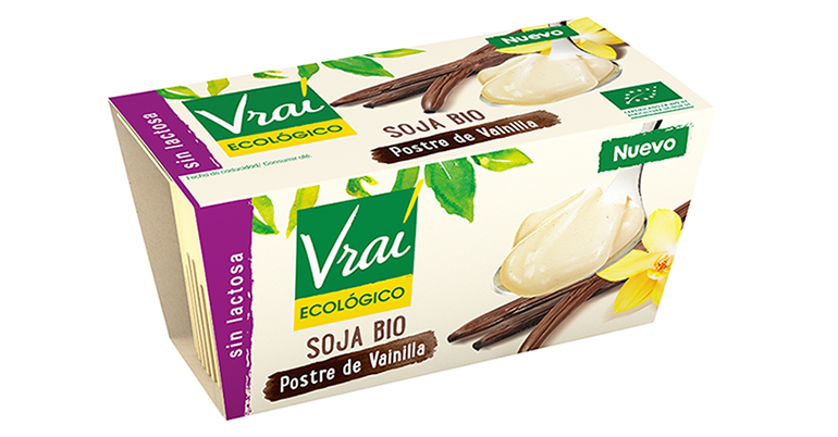 Postres de chocolate y de vainilla, dos nuevas recetas que sacan lo mejor de la soja sin OMG
