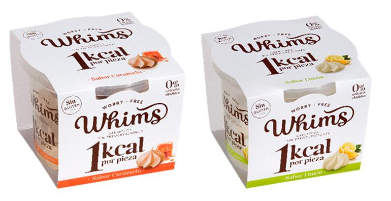 Whims: el snack dulce saludable de tan sólo 1 kcal, en sabores caramelo y limón