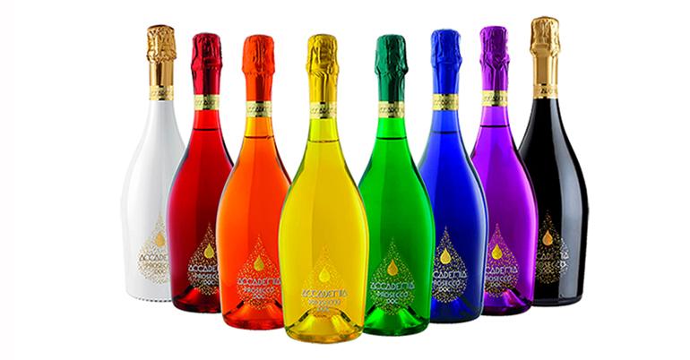 Prosecco DOC, vivacidad, elegancia y versatilidad en botellas de colores que marcan la diferencia