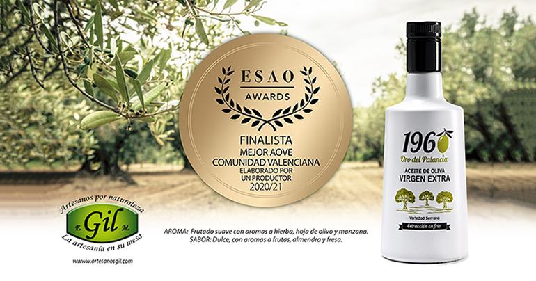 1960 Oro del Palancia, finalista en el certamen de ESAO como Mejor AOVE Comunidad Valenciana