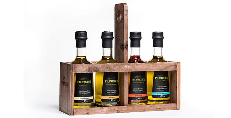 Práctico pack de aceites macerados para regalar en Navidad