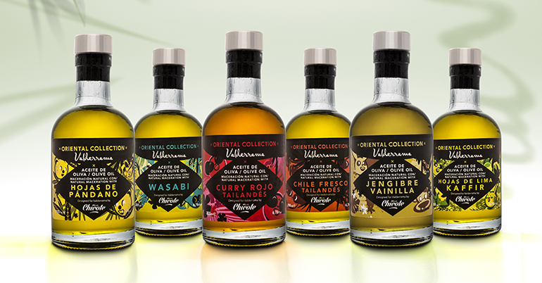 Oriental Collection, seis aceites especiados con la firma de Chicote