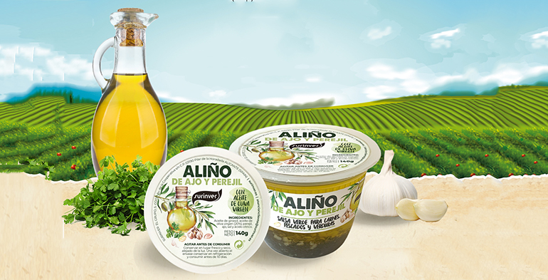 Nuevo aliño de ajo y perejil, ideal para condimentar carnes, pescados, pastas y verduras