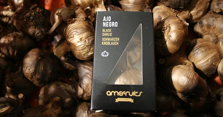 Ajo negro natural, elaborado con los mejores ajos morados de Las Pedroñeras