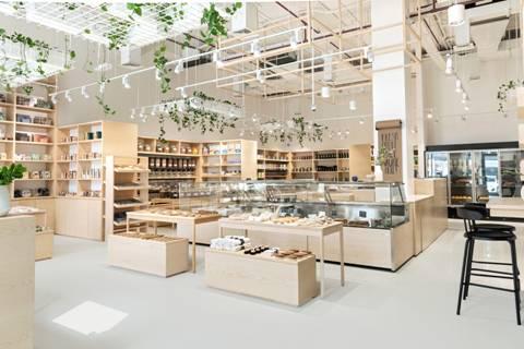 Ligereza del fresno estadounidense para el diseño de supermercados