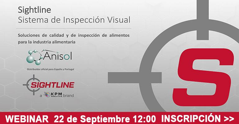 Anisol imparte un webinar sobre calidad e inspección de alimentos para la industria