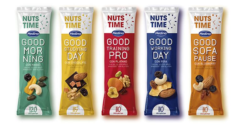 Llega Nuts Time, un snack con un aporte nutricional para cada momento del día