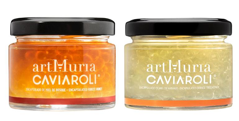 Perlas de caviar de miel, complemento ideal para los menús navideños