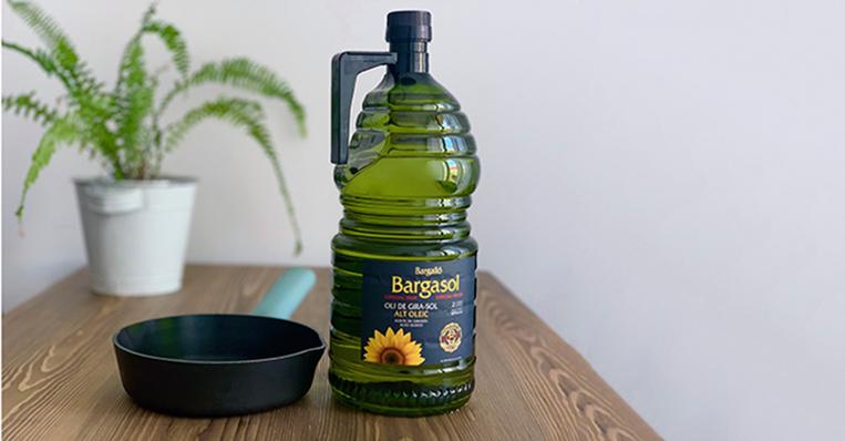 Bargasol, el alto oleico de los grandes chefs, ahora también en 2 litros para cocinar en casa