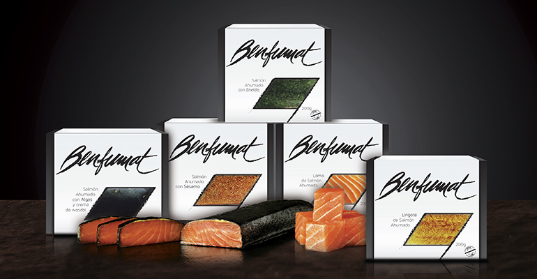 Exquisito salmón en varias presentaciones, con packaging renovado