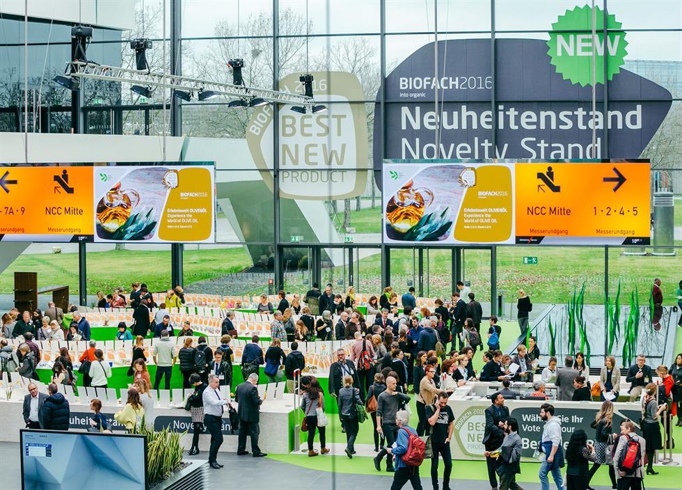Biofach + Vivaness, el mundo ecológico se da cita en Nuremberg a mediados de febrero