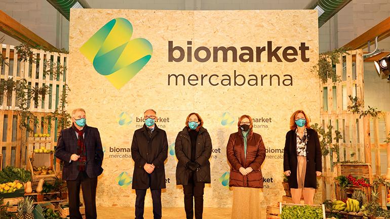 Abre el Biomarket en Mercabarna, un impulso para la agricultura y el comercio de proximidad