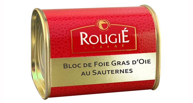 Nuevo bloc de foie gras de oca con vino de Sauternes